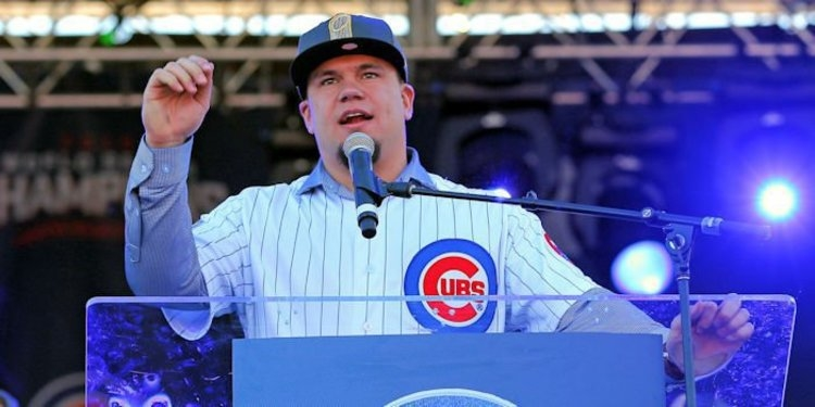 Schwarber helped break the Cubs title curse (Jerry Lai - USA Today Sports)