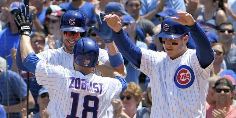 The Chicago Cubs have been on fire out of the All-Star break, having won eight of nine games in that stretch.