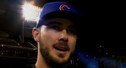 WATCH: Postgame interview with Kris Bryant