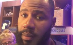 WATCH: Heyward discusses batting vs. Chapman