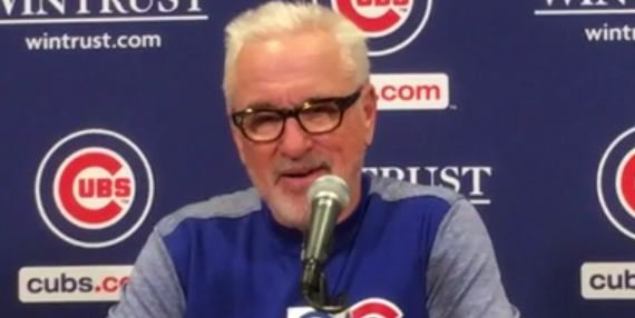 WATCH: Maddon discusses letting Matt Szczur go