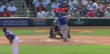 WATCH: Szczur smacks two-run homer vs. Rockies