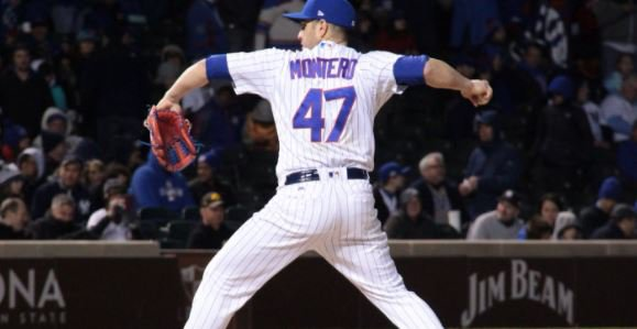 Miguel Montero pitches the 9th inning vs. Yankees