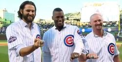 WATCH: Hammel, Soler, Wood receive their World Series rings