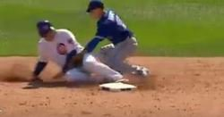 WATCH: Rizzo steals base on Miguel Montero