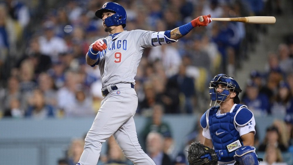 Javier Baez showed out at the plate, hitting two home runs and amassing five RBI. (Photo Credit: Gary A. Vasquez-USA TODAY Sports)