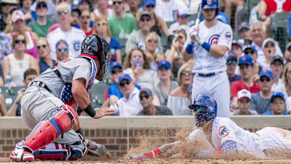 Baez is 24/7 fun with his exciting plays (Patrick Gorski - USA Today Sports)