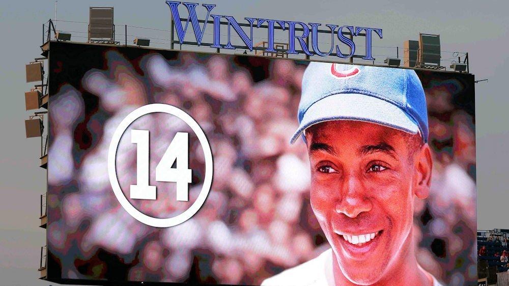 RIP Ernie Banks (Dennis Wierzicki - USA Today Sports)