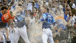 Bote makes history with walk-off blast as Cubs topple Reds