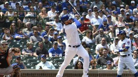 Kris Bryant is one of just three Cubs third basemen to ever hit 100 home runs. (Photo Credit: David Banks-USA TODAY Sports)