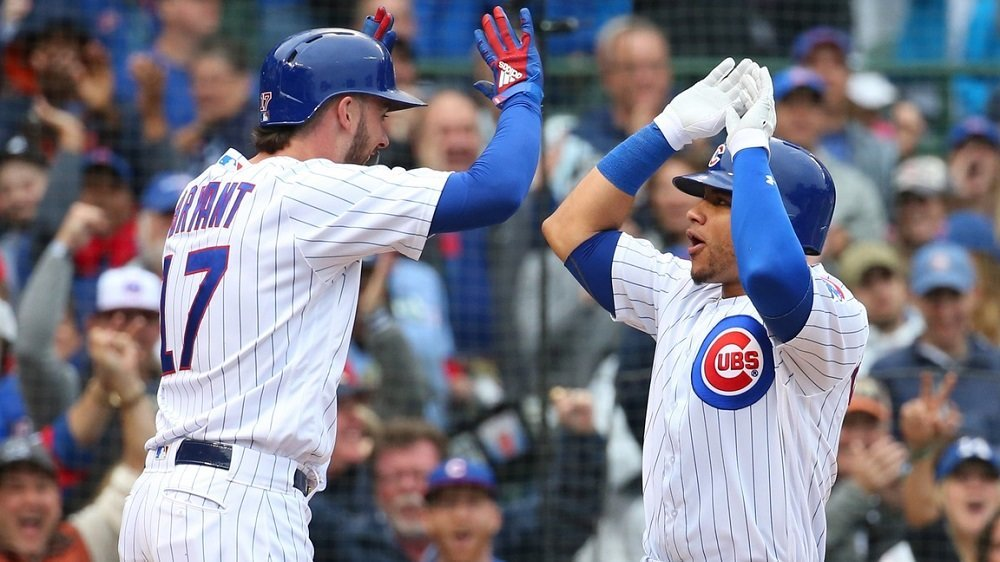 The Cubs racked up 12 hits, six of which were of the extra-base variety, off Cardinals pitching. (Photo Credit: Jerry Lai-USA TODAY Sports)