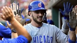 Cubs dominate D-backs, Bryant on Harper's deal, Rizzo's hair, RIP Harry Caray, more