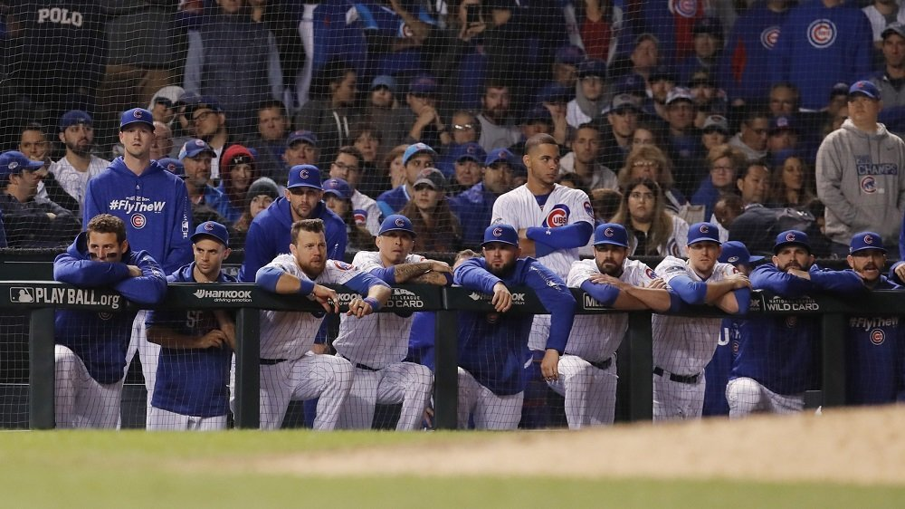 Fitting with the theme of their recent offensive woes, the Chicago Cubs scored just one run over the course of 13 innings. (Photo Credit: Jim Young-USA TODAY Sports)