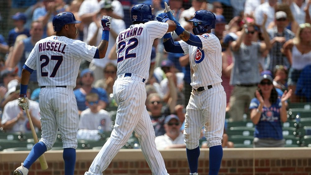 The Chicago Cubs tallied 20 hits, 17 of which were singles, in an impressive display of hitting prowess. (Photo Credit: Dennis Wierzbicki-USA TODAY Sports)