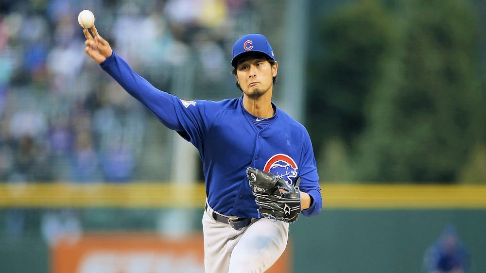 Yu Darvish has not lived up to the billing through four starts with the Cubs. (Photo Credit: Russell Lansford-USA TODAY Sports)