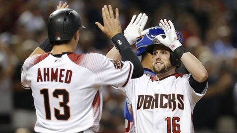 Offensively, the Diamondbacks showed no mercy against Cubs starting pitcher Cole Hamels. (Photo Credit: Rick Scuteri-USA TODAY Sports)