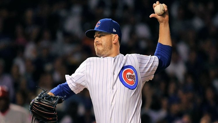 Cubs place reliever on DL, recall Maples