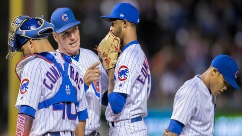 ESPN reporting Cubs pitching coach won't be back