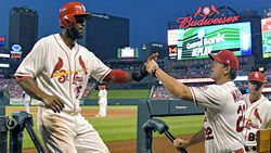 WATCH: Fowler homers in 1st at-bat since Matheny's firing