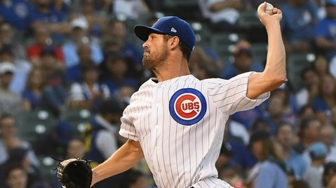 Starting pitcher Cole Hamels has performed incredibly well since being acquired by the Chicago Cubs. (Photo Credit: Matt Marton-USA TODAY Sports)
