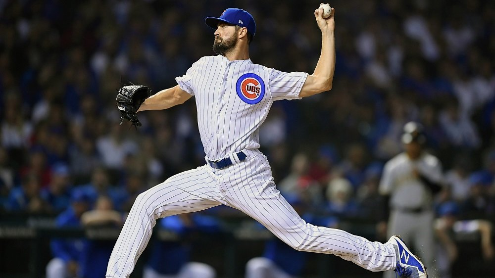 Chicago Cubs hurler Cole Hamels lost his second consecutive start on Monday. (Photo Credit: Quinn Harris-USA TODAY Sports)