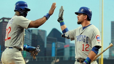 The Cubs tallied 14 hits, including three home runs, as part of an impressive offensive showing. (Photo Credit: Charles LeClaire-USA TODAY Sports)