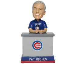 LOOK: Limited edition Pat Hughes World Series bobblehead unveiled