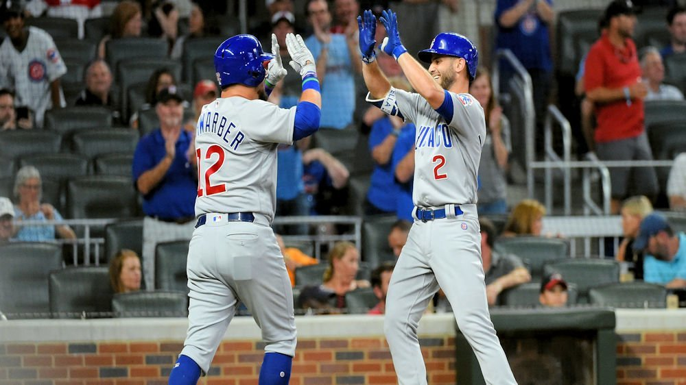 Tommy La Stella picked an appropriate night to hit his first career pinch-hit home run. (Photo Credit: Adam Hagy-USA TODAY Sports)