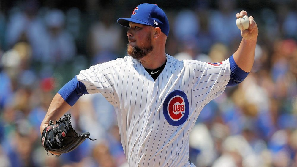 Cubs left-hander Jon Lester returned to top form against the Diamondbacks. (Photo Credit: Jim Young-USA TODAY Sports)