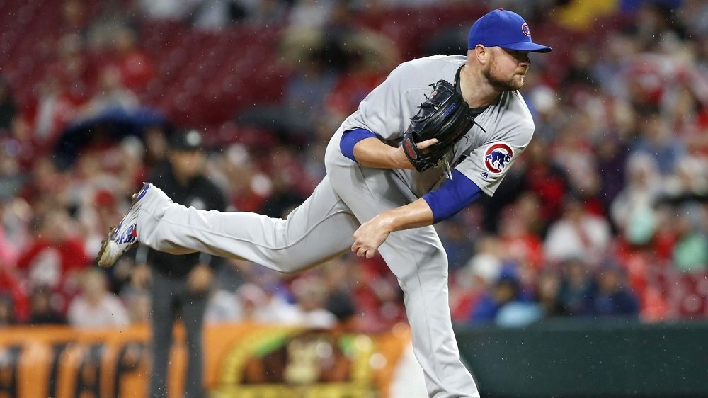 Chicago Cubs ace Jon Lester pitched six dominant innings to earn his second straight win. (Photo Credit: David Kohl-USA TODAY Sports)