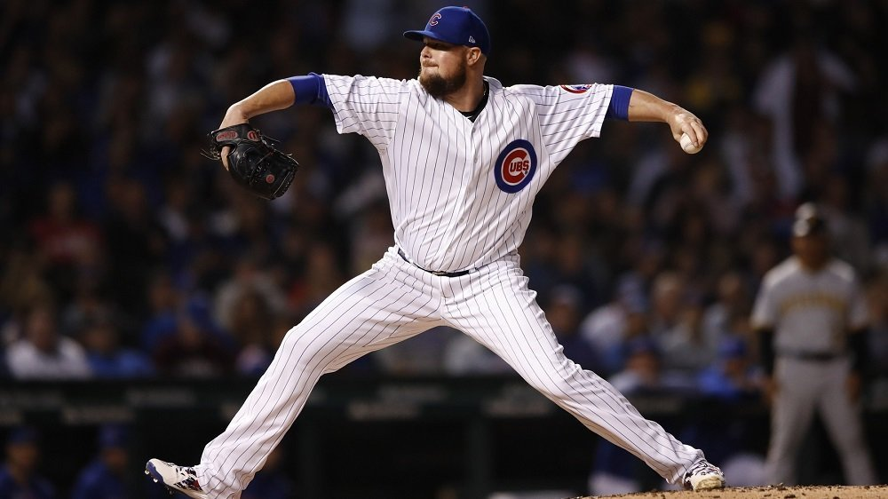 Cubs ace Jon Lester put together a strong outing in a critical game for the North Siders. (Photo Credit: Kamil Krzaczynski-USA TODAY Sports)