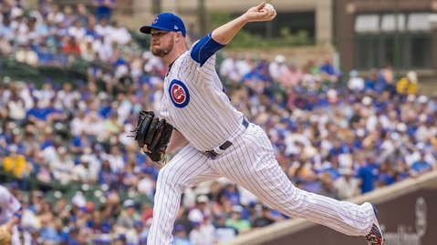 Chicago Cubs starting pitcher Jon Lester was marvelous in seven innings of work on Saturday. (Photo Credit: Patrick Gorski-USA TODAY Sports)