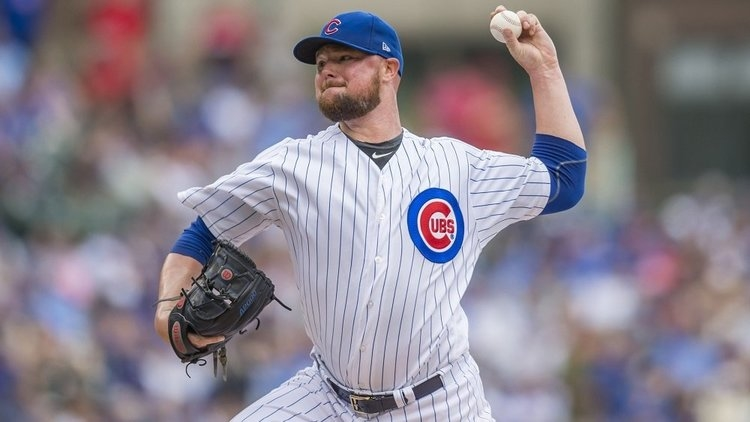 Lester was a gamechanger for the Cubs (Patrick Gorski - USA Today Sports)