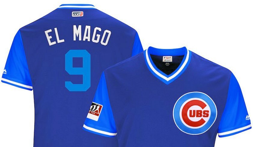 meet 44ae1 24a7b Hilarious Cubs nickname jerseys released for Players Weekend ...