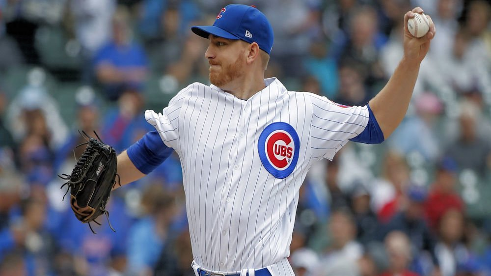 Mike Montgomery remained undefeated as a starting pitcher this season. (Photo Credit: Kamil Krzaczynski-USA TODAY Sports)