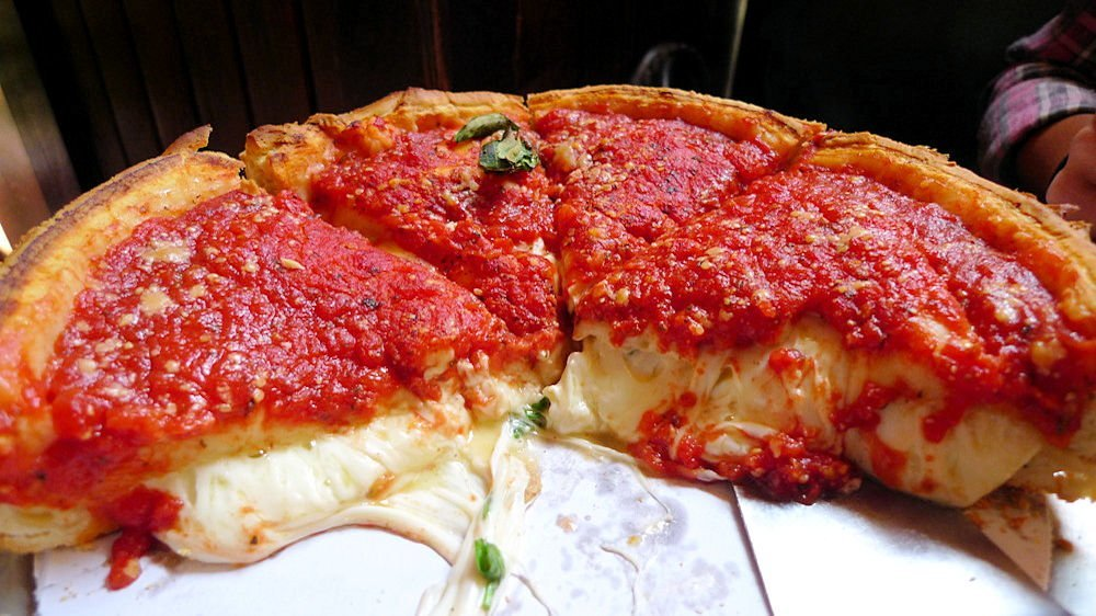 Chicago-style Deep Dish Pizza is overrated