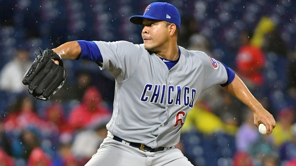 Jose Quintana was not done any favors by the Cubs' lack of offensive production. (Photo Credit: Eric Hartline-USA TODAY Sports)