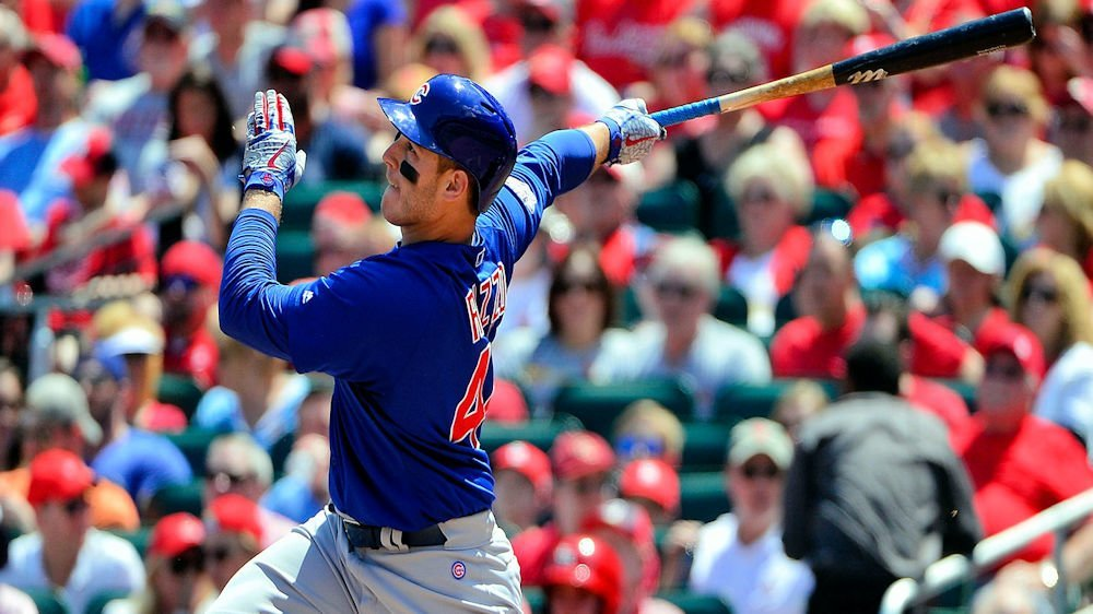 Chicago Cubs first baseman Anthony Rizzo swatted his third home run of the week on Saturday. (Photo Credit: Jeff Curry-USA TODAY Sports)