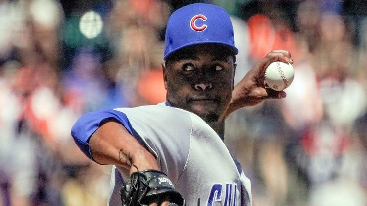 Former Chicago Cubs reliever Randy Rosario was claimed off waivers by the Kansas City Royals. (Credit: Stan Szeto-USA TODAY Sports)