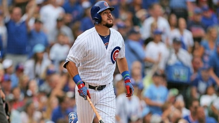 There is a slight chance that Schwarbs could be traded (Dennis Wierzbicki - USA Today Sports
