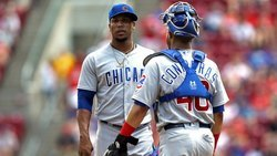 Pedro Strop being held out of camp after violating COVID-19 protocols