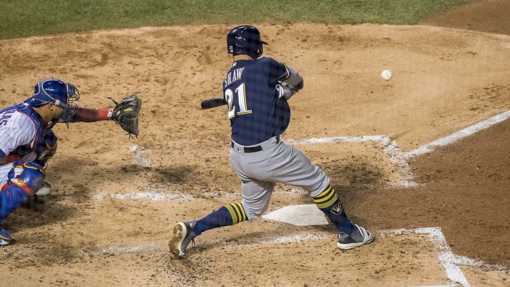 The Brewers used 11 hits and four walks to outmatch the Cubs in the two clubs' last scheduled meeting of the year. (Photo Credit: Patrick Gorski-USA TODAY Sports)