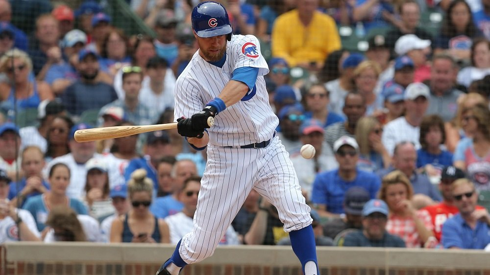 Ben Zobrist tallied four hits in a game for the first time this season. (Photo Credit: Dennis Wierzbicki-USA TODAY Sports)