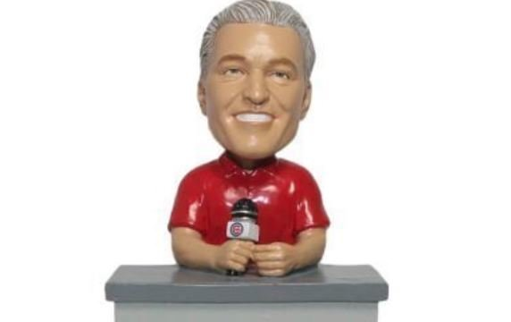 HURRY: Limited edition Pat Hughes World Series bobblehead unveiled