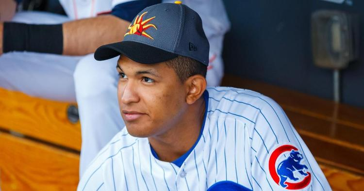 Alzolay is a key pitcher for the Cubs minor league system (Mark Rebilas - USA Today Sports)