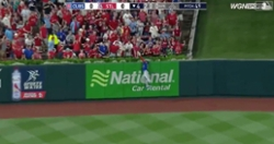 WATCH: Albert Almora Jr. robs Yadier Molina of home run with epic leaping grab