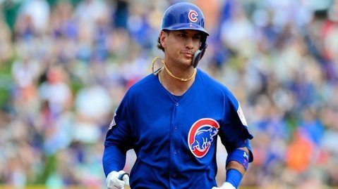 Albert Almora Jr. walloped a go-ahead grand slam in the bottom of the fifth on Wednesday. (Credit: Matt Kartozian-USA TODAY Sports)
