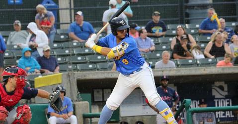 Amaya had an impressive 4-hit night (courtesy: MB Pelicans)