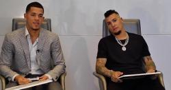 WATCH: Javier Baez plays quiz game against brother-in-law Jose Berrios of Twins