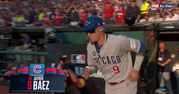 Javier Baez and three other members of the Cubs' 2016 World Series team were booed by salty Indians fans at the All-Star Game.